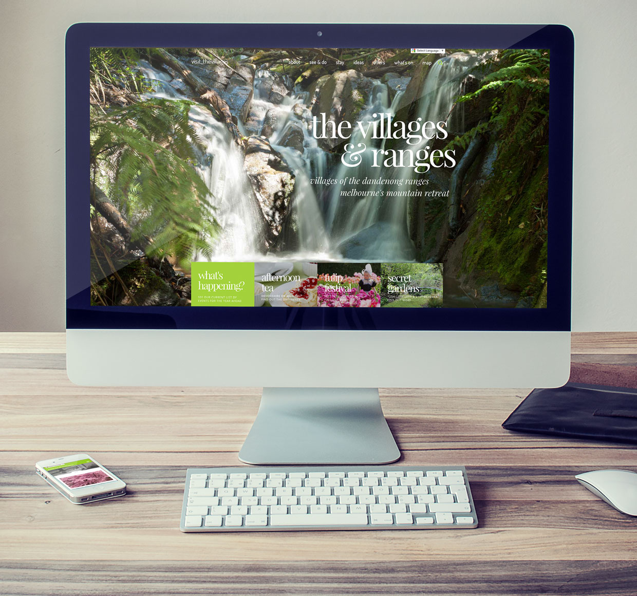 The Villages of the Dandenong Ranges Website