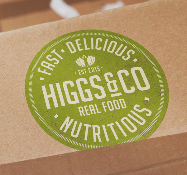 Higgs&Co Fast Nutritious and Delicious Logo
