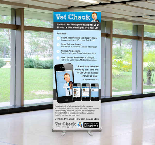 Premium Pull Up Banners Printed